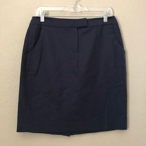Cynthia Rowley Blue pocket pencil skirt 8